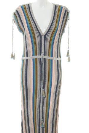 Esprit Gebreide jurk gestreept patroon casual uitstraling