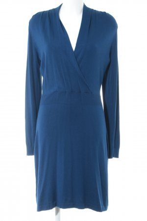 Esprit Strickkleid blau Casual-Look