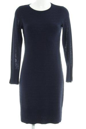 Esprit Strickkleid dunkelblau Casual-Look