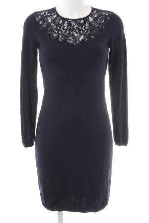 Esprit Strickkleid dunkelblau Elegant