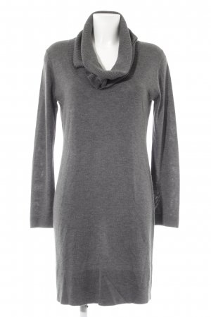 Esprit Strickkleid dunkelgrau Casual-Look