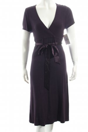 Esprit Strickkleid dunkelviolett Casual-Look