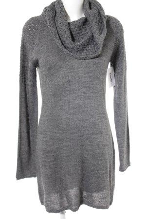 Esprit Abito di maglia grigio stile casual