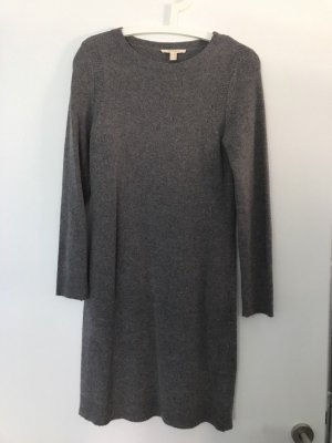 Esprit Robe en maille tricotées gris-gris foncé tissu mixte