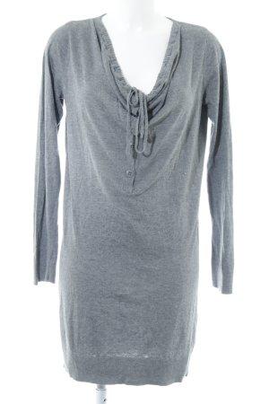 Esprit Strickkleid grau schlichter Stil