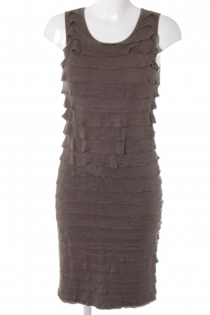 Esprit Strickkleid graubraun Casual-Look
