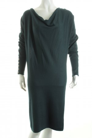 Esprit Strickkleid petrol Casual-Look