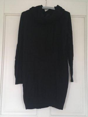 ESPRIT Strickkleid Pullover mit Rollkragen schwarz