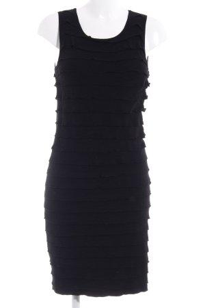 Esprit Vestido tejido negro look casual