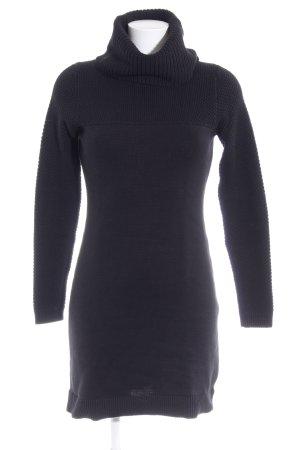 Esprit Gebreide jurk zwart casual uitstraling