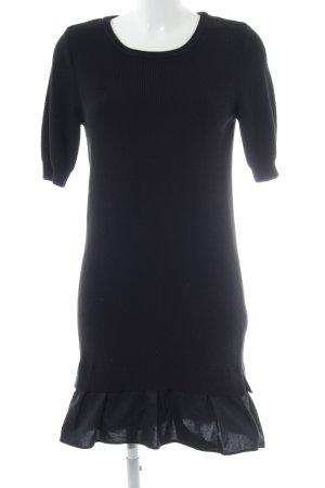 Esprit Strickkleid schwarz Casual-Look