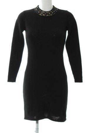 Esprit Strickkleid schwarz Dekoelemente