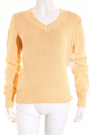 Esprit Strickpullover apricot Casual-Look