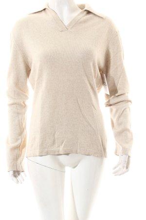 Esprit Strickpullover beige Casual-Look
