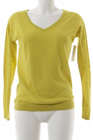 Esprit Strickpullover gelb klassischer Stil