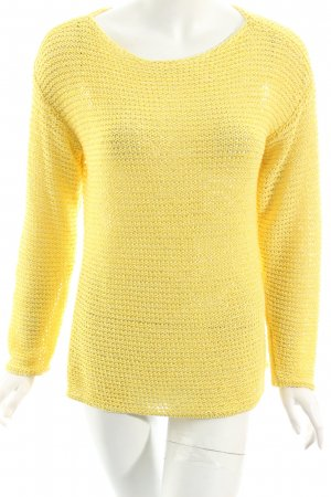Esprit Strickpullover gelb schlichter Stil