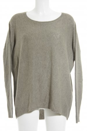 Esprit Knitted Sweater grey brown casual look