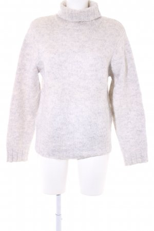 Esprit Knitted Sweater light grey-oatmeal flecked casual look
