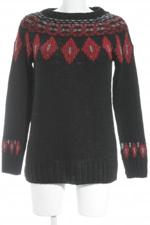 Esprit Strickpullover Ikatmuster Street-Fashion-Look