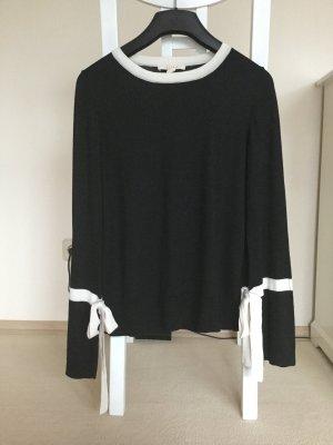 Esprit Maglione lavorato a maglia nero-bianco sporco Poliestere