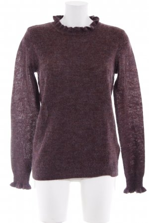 Esprit Strickpullover purpur meliert Casual-Look