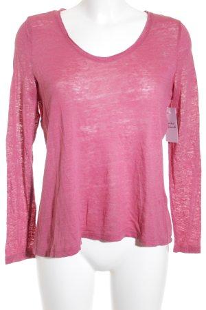 Esprit Strickpullover rosa Casual-Look