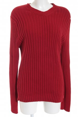 Esprit Strickpullover rot Casual-Look