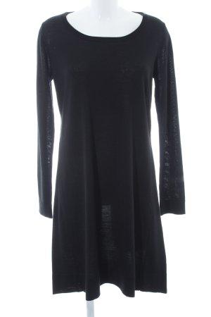 Esprit Gebreide trui zwart-zilver casual uitstraling