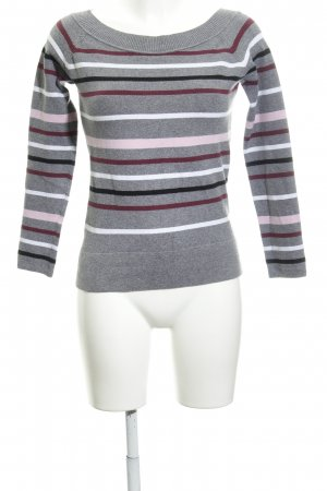 Esprit Maglione lavorato a maglia motivo a righe stile casual