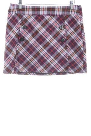 Esprit Jupe tricotée motif Prince de Galles style des années 90