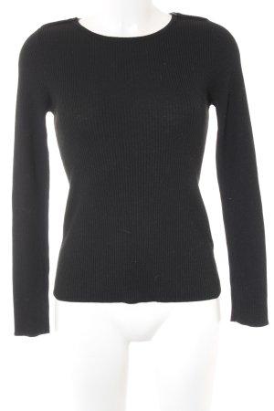 Esprit Strickshirt schwarz Casual-Look