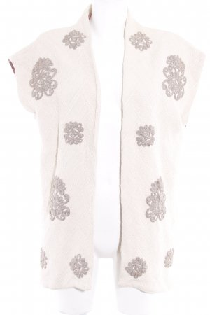 Esprit Knitted Vest floral pattern casual look