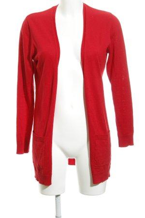 Esprit Gebreid vest rood casual uitstraling