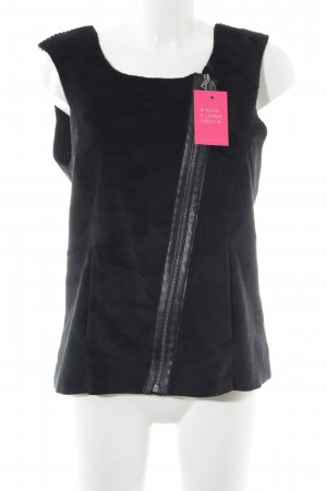 Esprit Gilet tricoté noir style décontracté