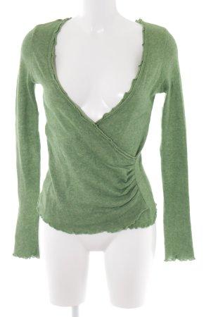 Esprit Cache-cœur en tricot vert style décontracté