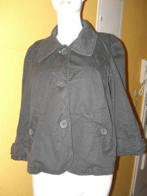 Esprit, süsse und schicke Sommer Jacke Blazer in Grau, 3/4 Arm Gr. 38