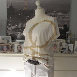 Esprit Camiseta estampada crema-beige