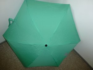 Esprit Folding Umbrella lime-green polyester