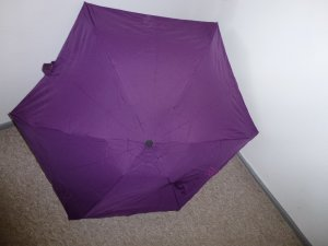 Esprit Folding Umbrella dark violet polyester