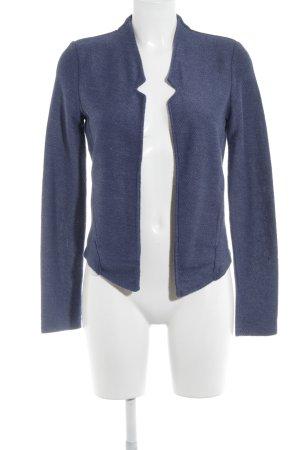 Esprit Sweatblazer dunkelblau-graublau meliert Casual-Look
