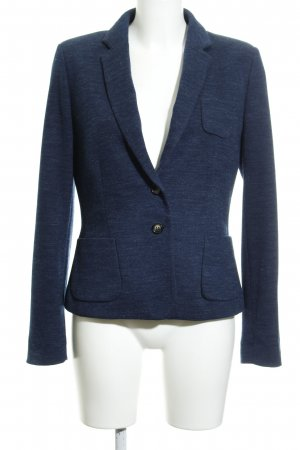 Esprit Blazer de tela de sudadera azul oscuro-gris claro moteado look casual