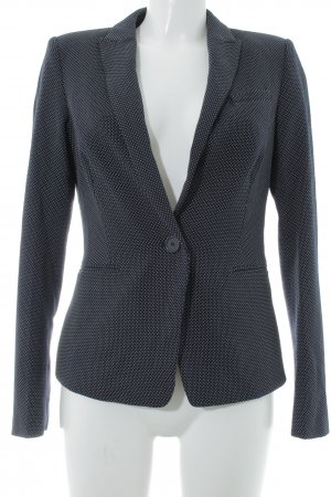 Esprit Sweat Blazer dark blue-white spot pattern casual look