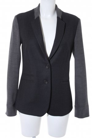 Esprit Sweatblazer dunkelgrau-hellgrau Business-Look