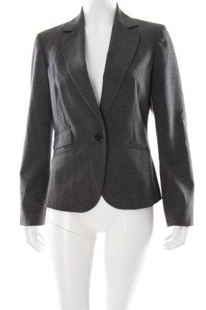 Esprit Sweat Blazer dark grey-light grey striped pattern business style