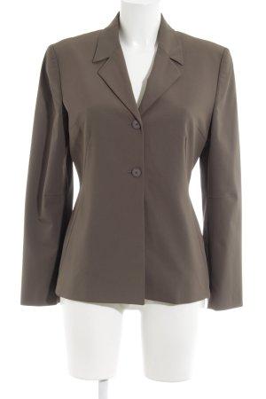 Esprit Blazer de tela de sudadera marrón grisáceo estilo «business»