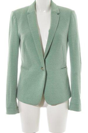 Esprit Blazer de tela de sudadera verde claro-verde hierba moteado elegante