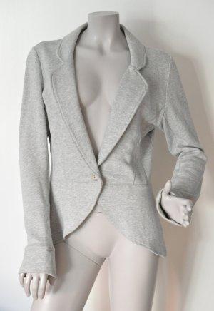 Esprit Sweatblazer Jerseyblazer Baumwolle grau meliert Gr. M