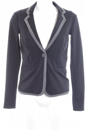 Esprit Sweatblazer schwarz-grau Business-Look