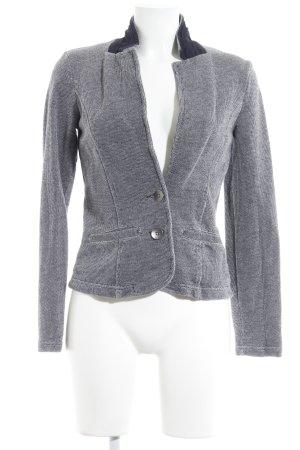 Esprit Sweat Blazer white-dark blue flecked casual look