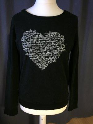 Esprit Sweater mit Herz-Print